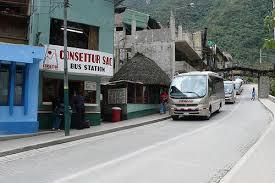 AC bus stop