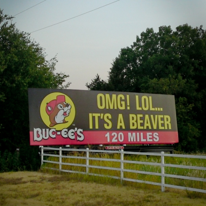 bucees billboard 2