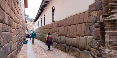 Cusco Inca foundations