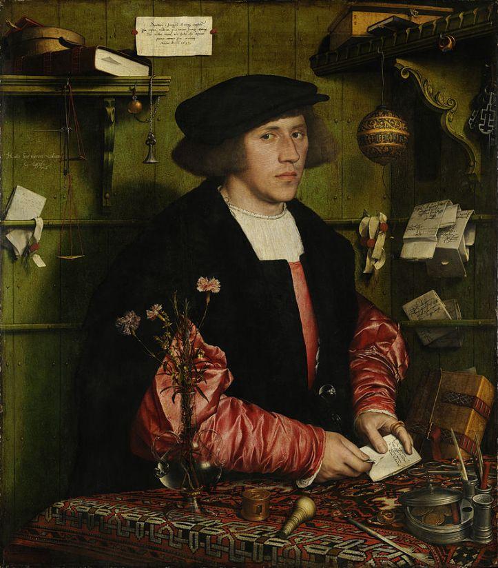 Hans_Holbein der Jüngere Der Kaufmann Georg Gisze