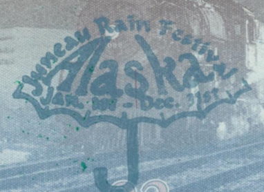 Juneau rain stamp