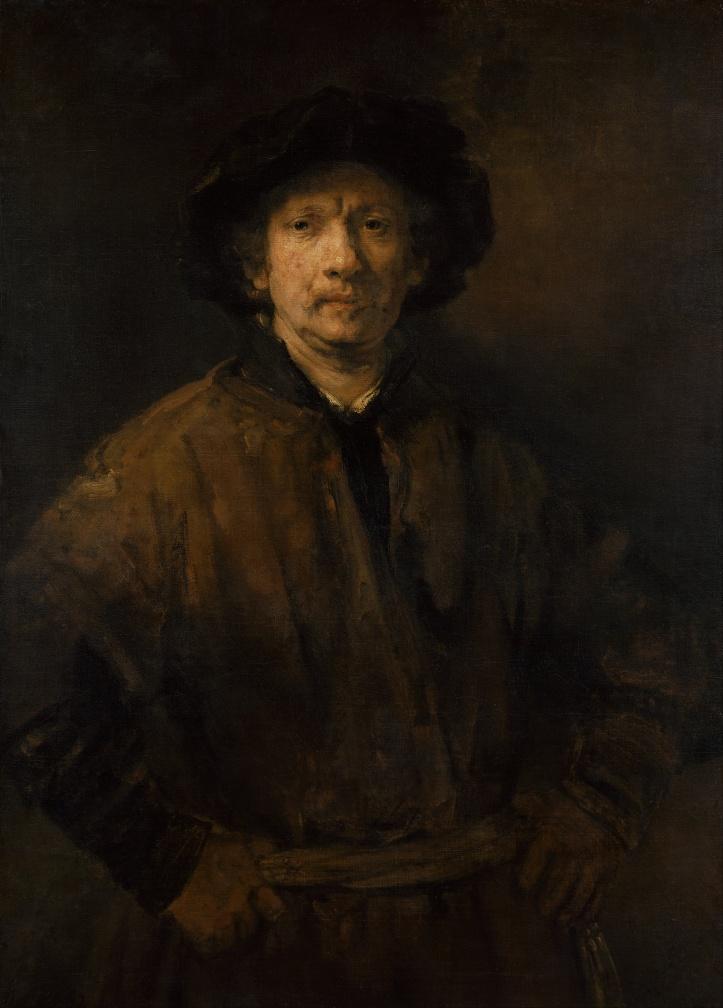 KHM Rembrandt Self-Portrait