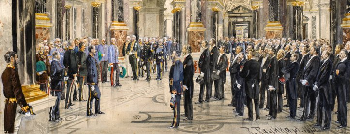Opening of Kunsthistorisches Museum 1891