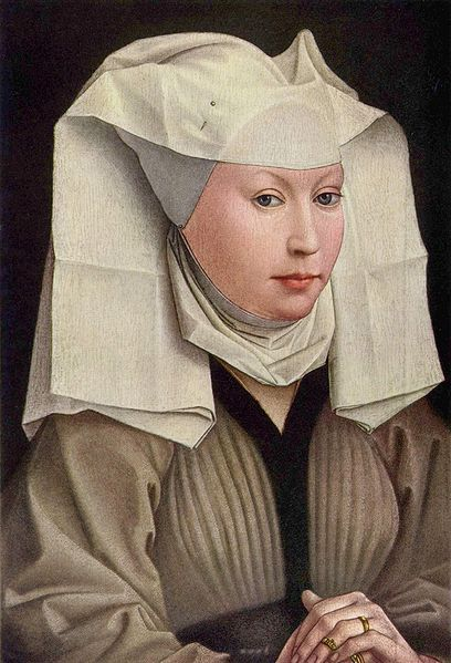 Portrait of a Young Woman van der Weyden 1430