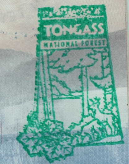 Tongass stamp