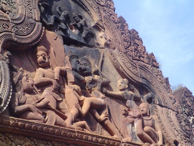 2007 Cambodia Banteay Srei temple 42.jpg