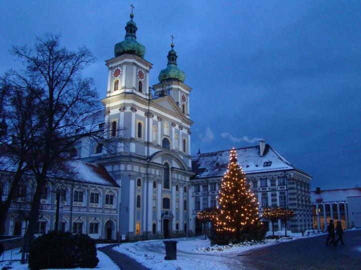 2009 Waldsassen Basilica at Christmas 04