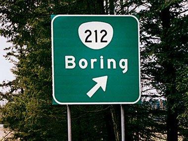 Boring OR