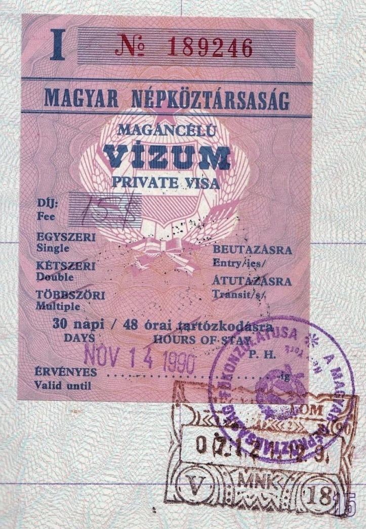 Hungary visa