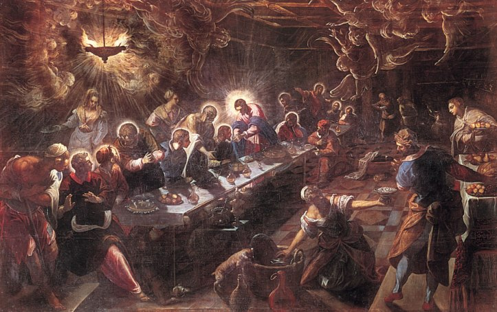 Last Supper Tintoretto