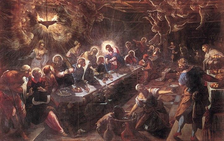 Last Supper Tintoretto