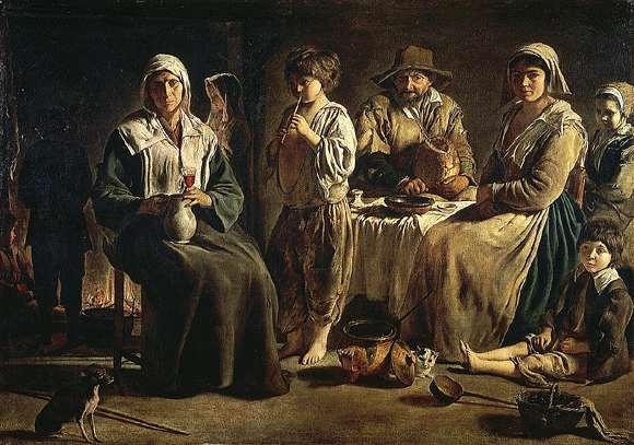 Le Nain Peasant Family