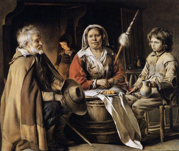 Le Nain Peasant Interior