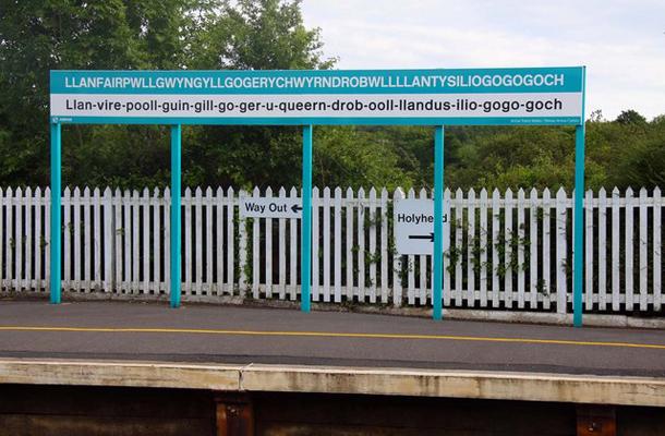 Llanfair PG Wales