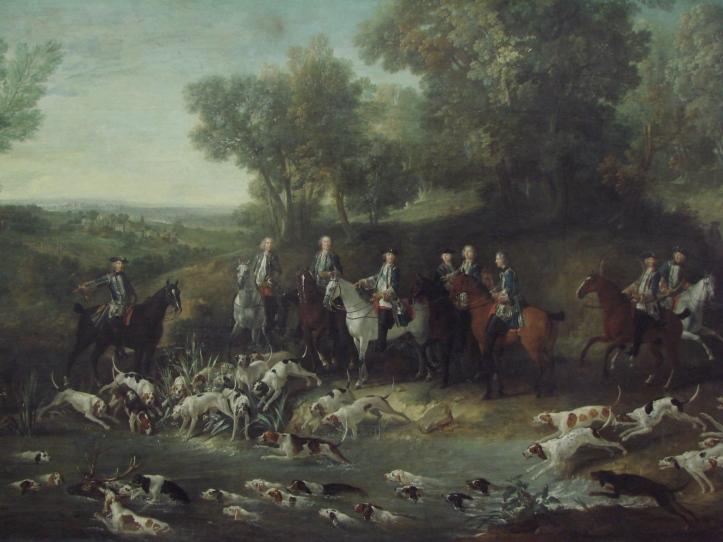 Louix XV hunting
