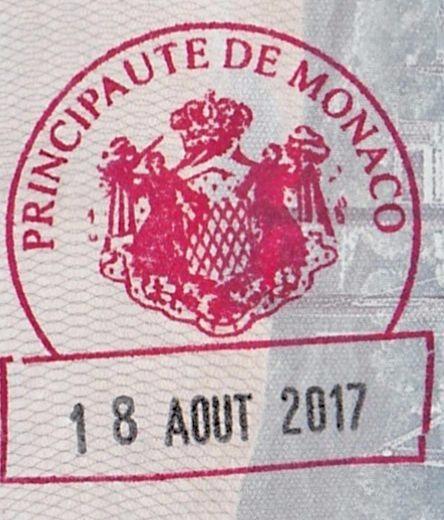 Monaco stamp (2)