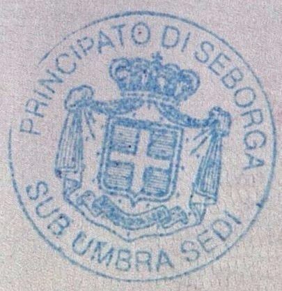 Seborga stamp (1)