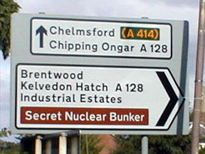 Secret Nuclear Bunker UK