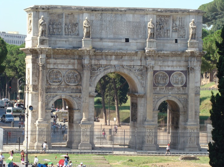 2008 Rome Arch of Constantine 10