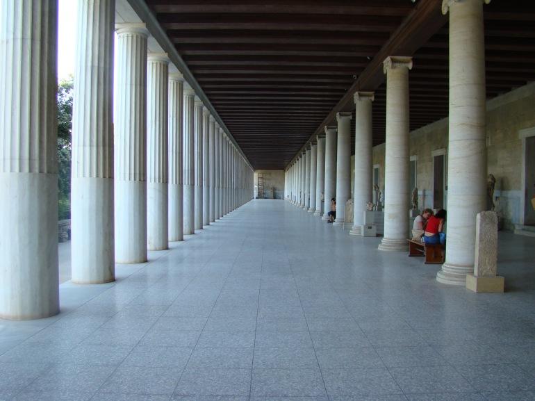 2009 Athens Ancient Greek Agora Stoa of Attalos 01
