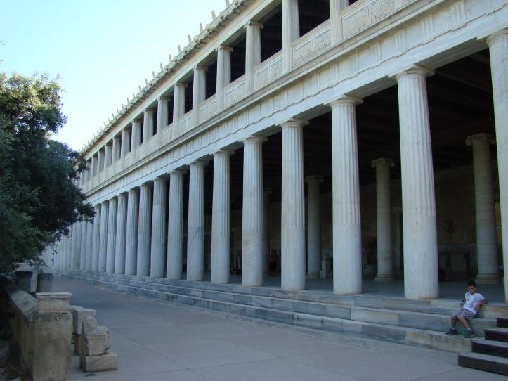 2009 Athens Ancient Greek Agora Stoa of Attalos 08