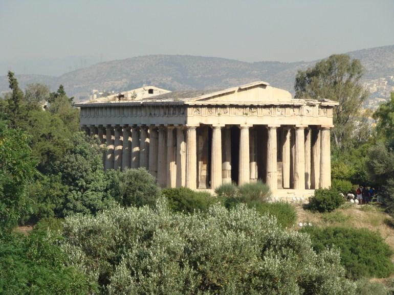 2009 Athens Temple of Hephaistos 02