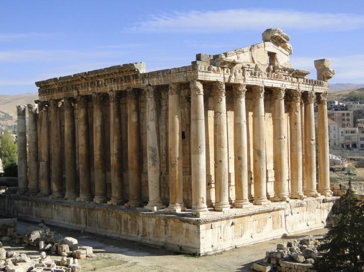 2010 Lebanon Baalbeck Roman Temple of Bacchus 04