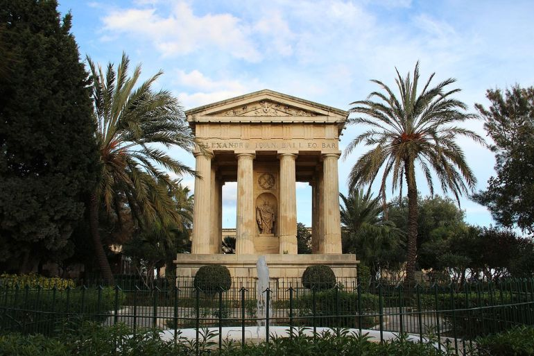 Ball Monument Valetta