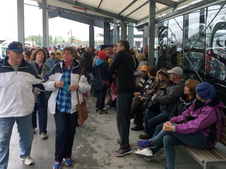 Juneau crowds